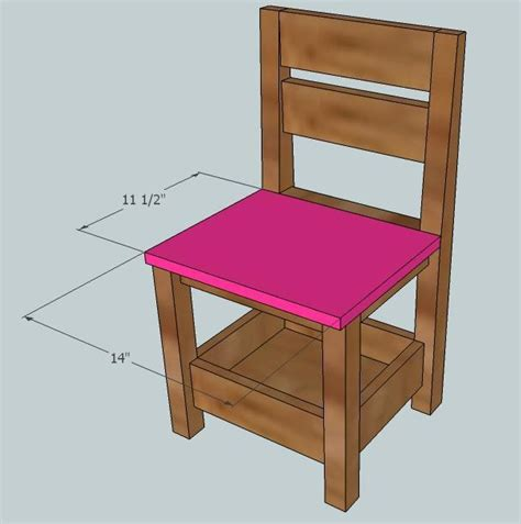 ana white childrens storage chair diy projects
