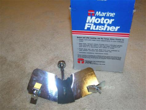 Mercury Outboard Motor Flushing Attachment by Flushing Outboard Motors