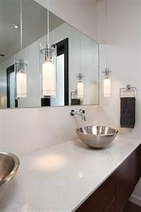 Modern glam bathroom atlanta by burns