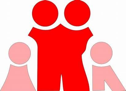 Parents Children Clip Pink Parent Clipart Cliparts