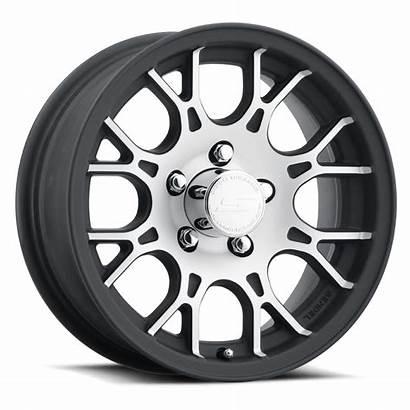 Trailer 15x6 Matte Wheel Aluminum Machined T16