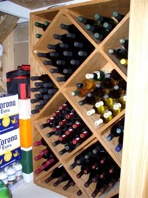 dempsey woodworking wine rack