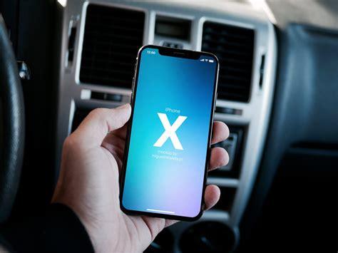 Iphone X In Car Mockup Mockupworld