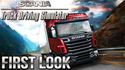 scania truck driving simulator scania truck driving simulator look