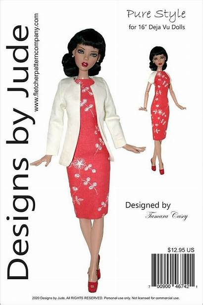 Sewing Doll Tonner Clothes Patterns Dolls Pure