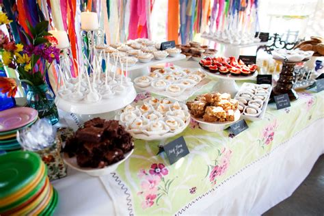 Ideas For Halloween Finger Foods by Homemade Dessert Buffet The Sweetest Occasion