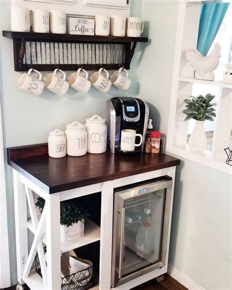 Discover 11 diy home coffee bar ideas to create the perfect little spot for all your morning coffee dates. 30+ Best Home Coffee Bar Ideas for All Coffee Lovers | Home coffee stations, Coffee bars in kitchen