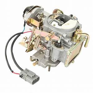 Car Engine Carburetor Zinc Alloy Metal For Nissan 720 Pickup 2 4l Z24 Engine 1983 1986