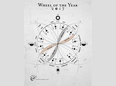 Wheel of the Year Postcard 2018 – The Flying Cat