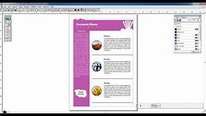 Pagemaker Tutorial In Hindi - Creating Newsletter