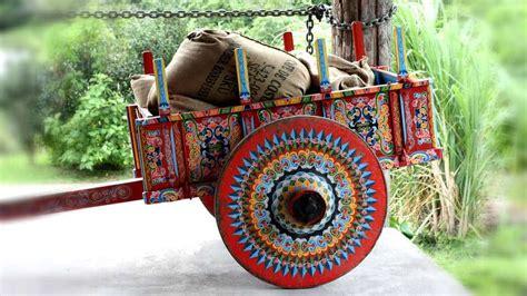 Conoce las carretas de Costa Rica ¡están hermosas El
