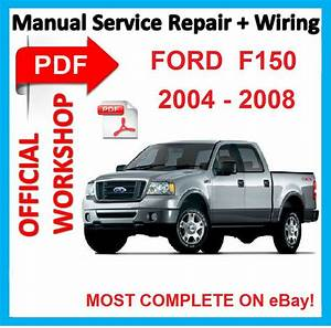 Official Workshop Manual Service Repair For Ford F-150 F150 2004