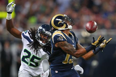 st louis rams  seattle seahawks point spread