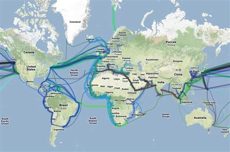 Undersea Cables Keep The Caribbean Connected World