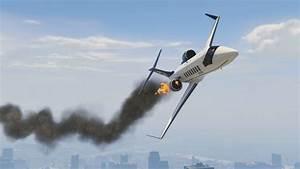 GTA 5 ~ Plane Crash Landing ~ Mission ~ Shooting Down ...