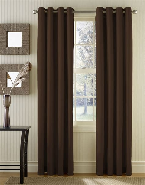 how to hang grommet drapes grommet panel curtains are typically attached to the