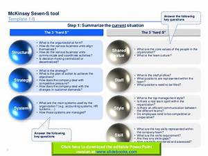 mc kinsey seven s templates in powerpoint With strategy document template mckinsey