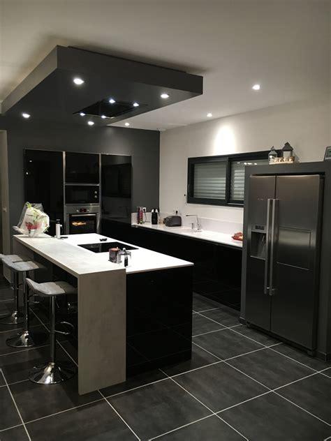 cuisine avec coin repas cuisine et blanche cuisines habitat
