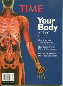 Time Your Body Users Manual Book Anatomy Dna Skin Mind