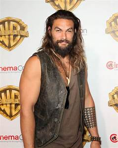 Jason Momoa And Charlie Hunnam At CinemaCon To F Ck Up