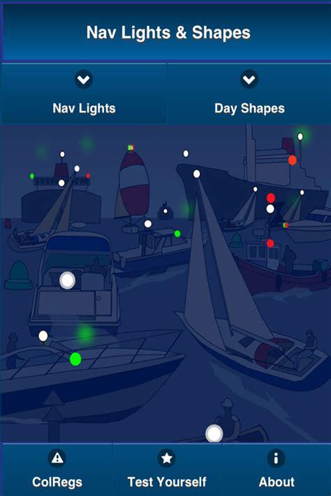 Boat Navigation Lights Test by Learn Navigation Lights Shapes International Colregs