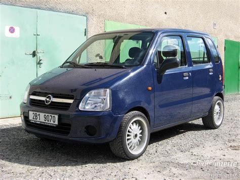 Opel Agila by 2002 Opel Agila Photos Informations Articles