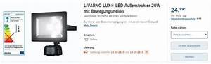 Led Außenstrahler Mit Bewegungsmelder Test : au enstrahler lidl angebot ab ~ Buech-reservation.com Haus und Dekorationen