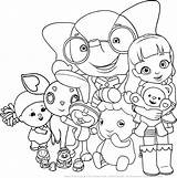 Ruby Rainbow Coloring Pages Printable Drawing Friends Colouring Village Arcobaleno Sheets Print Colorpages Books sketch template