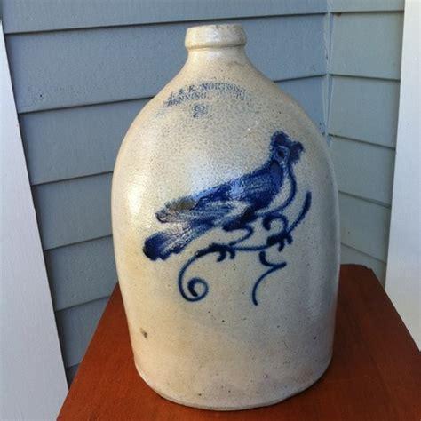 antique stoneware cobalt blue 2 gallon jug crock ebay 1000 images about crocks ceramics on