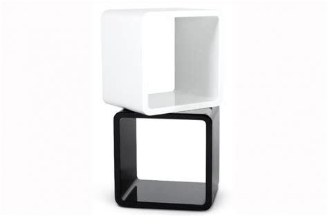 table de chevet blanc laque pas cher chevet design cube blanc laqu 233 tables de chevets pas cher
