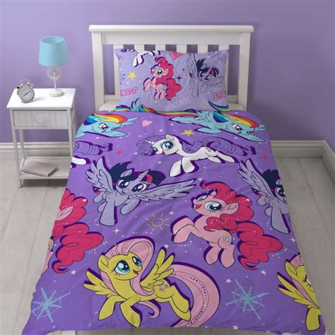 My Little Pony Movie 'adventure' Rotary Single Bed Duvet