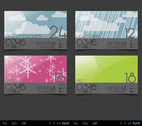 Weather Home Design by Beautiful Weather Widgets For Your Android Home Screens