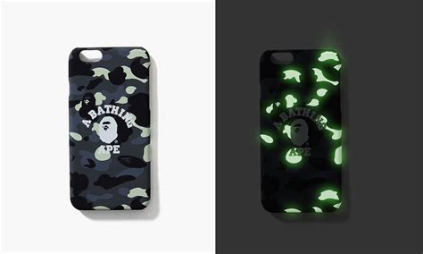 bape iphone bape glow in the camo iphone 6 6s pause