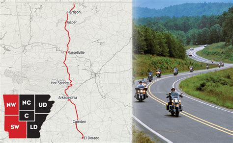 Motorcycle Rides In North Arkansas