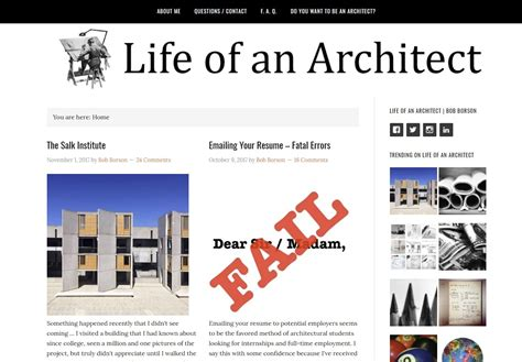 14 Best Architecture Blogs | Man of Many