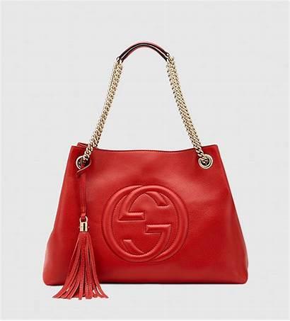 Gucci Bag Shoulder Leather Soho Bags Lyst