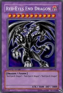 Red Eyes End Dragon Yu Gi Oh Card Maker Wiki Fandom