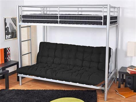 mezzanine canap lit mezzanine avec canapé convertible canapé idées de