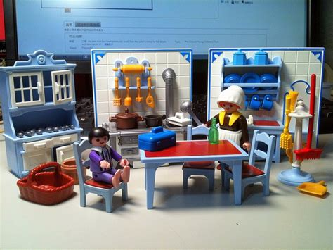 playmobil cuisine playmobil kitchen was so proud of it