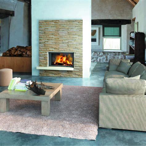 tendance cuisine 2015 exemple décoration poele cheminée
