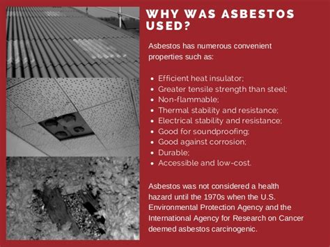 common asbestos  products