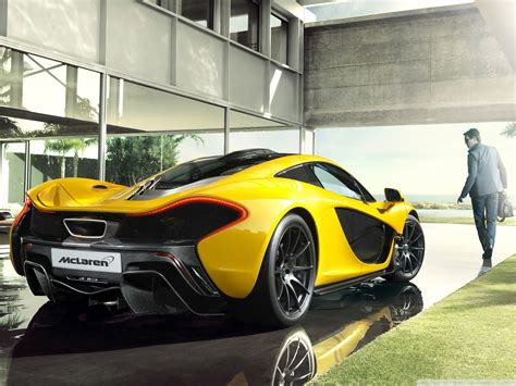 2014 Mclaren P1 Luxury Car 4k Hd Desktop Wallpaper For 4k