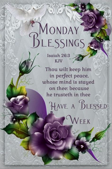 monday blessings   blessed week pictures