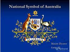 National Emblem Of Australia 123Countriescom