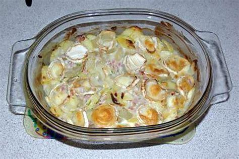 recette de gratin de blette au lardon