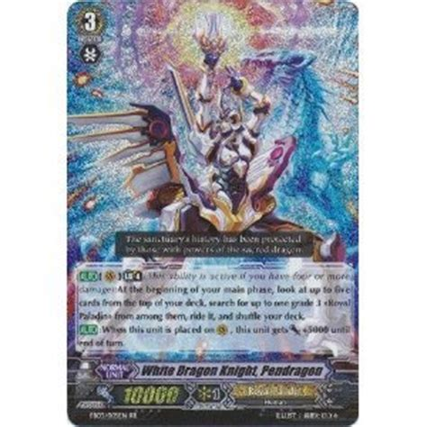 Amazoncom Cardfight!! Vanguard Tcg  White Dragon Knight, Pendragon (eb03005en)  Cavalry Of
