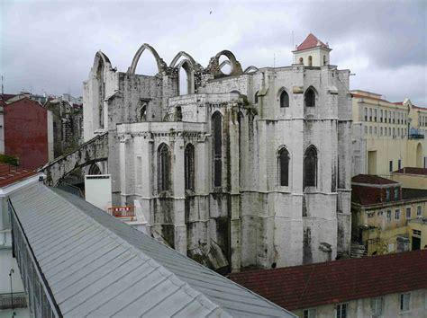 portugal lissabon sehenswuerdigkeiten igreja  carmo