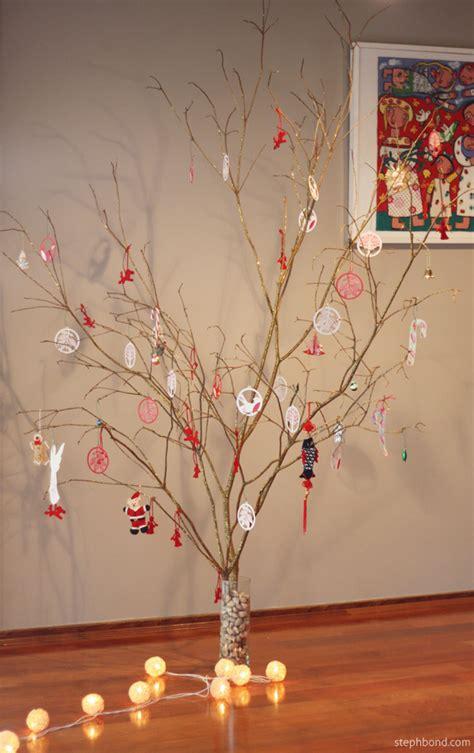 bare twig christmas tree princess decor