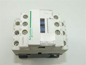 Schneider Cad50 10a Contactor Used