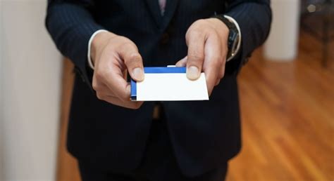 Business Card Etiquette In Japan